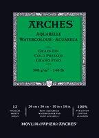 Arches WC Pad Cold Press 140LB 10X14