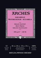 Arches WC Pad Hot Press 140LB 10X14
