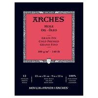 Arches Oil Paper Pad 140LB 9X12
