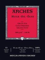 Arches Oil Paper Pad 140LB 12X16