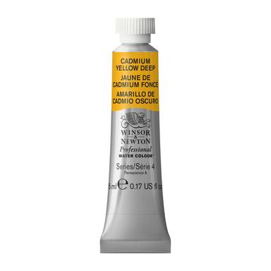 WN Artist Watercolor 5ML Cadmium Yellow Deep