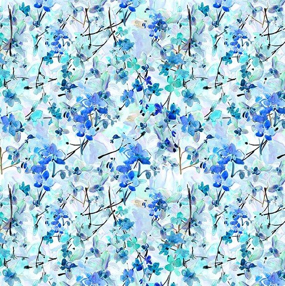 Watercolor Beauty, Orchid Blue