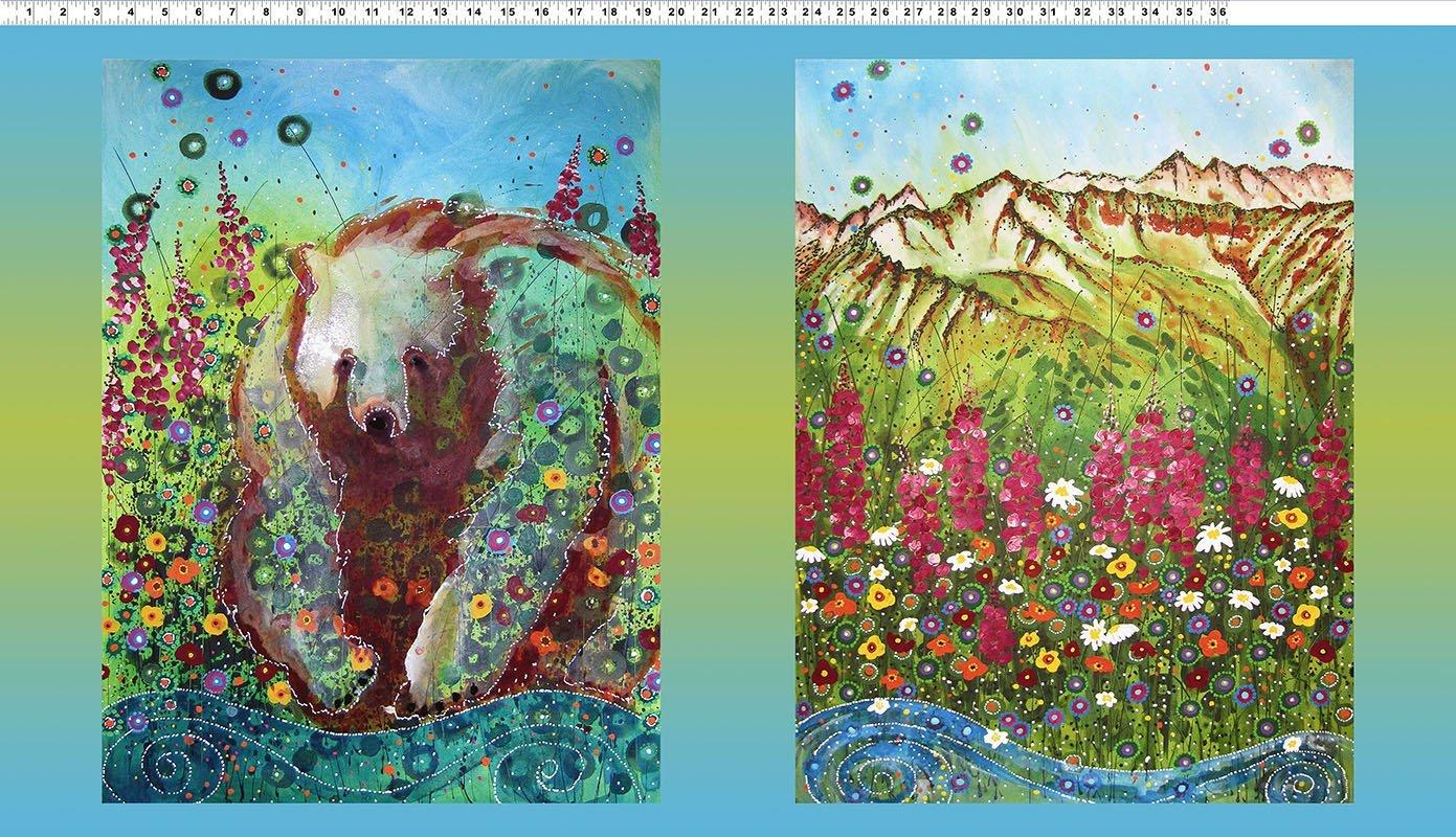 Dawn Gerety's Alaska Bear Panel