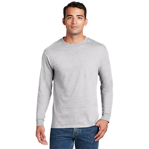 5186  Hanes® Beefy-T® - 100% Cotton Long Sleeve T-Shirt