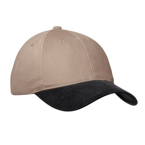 C815  Port Authority® Two-Tone Brushed Twill Cap