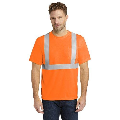 CS401  CornerStone® - ANSI 107 Class 2 Safety T-Shirt