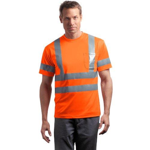 CS408  CornerStone® - ANSI 107 Class 3 Short Sleeve Snag-Resistant Reflective T-Shirt