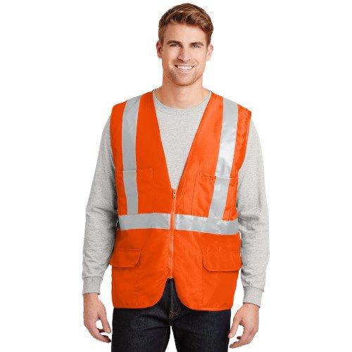 CSV405  CornerStone® - ANSI 107 Class 2 Mesh Back Safety Vest