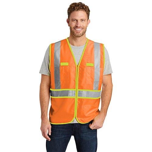 CSV407  CornerStone® - ANSI 107 Class 2 Dual-Color Safety Vest