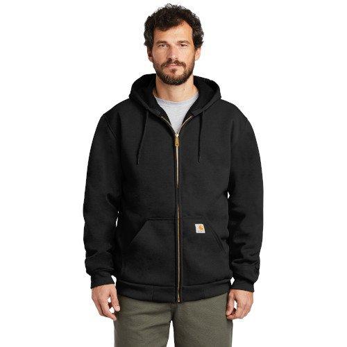 CT100632  Carhartt ® Rain Defender ® Rutland Thermal-Lined Hooded Zip-Front Sweatshirt