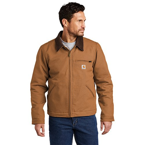 CTT103828  Carhartt® Tall Duck Detroit Jacket