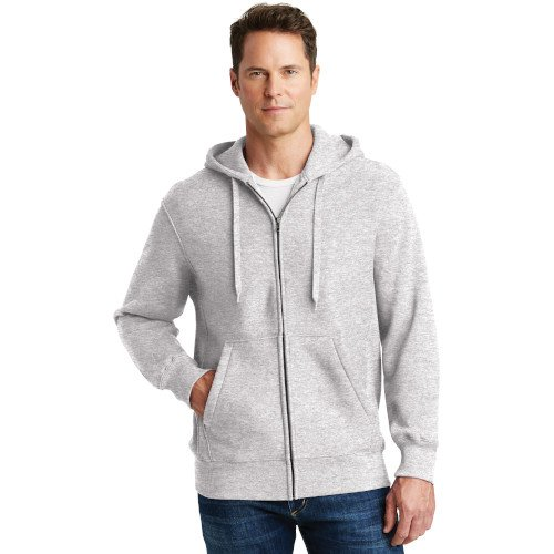 F282  Sport-Tek® Super Heavyweight Full-Zip Hooded Sweatshirt