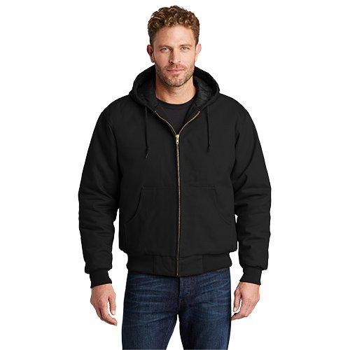 763H CornerStone® - Duck Cloth Hooded Work Jacket