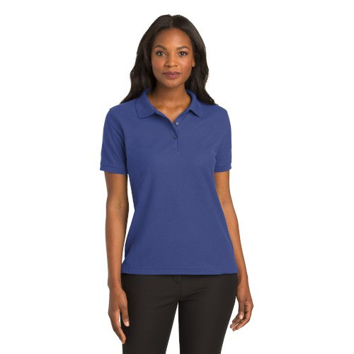 L500  Port Authority® Ladies Silk Touch? Polo