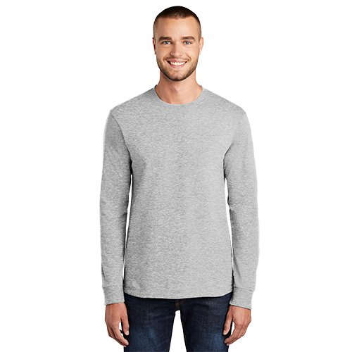 PC61LS  Port & Company® Long Sleeve Essential Tee