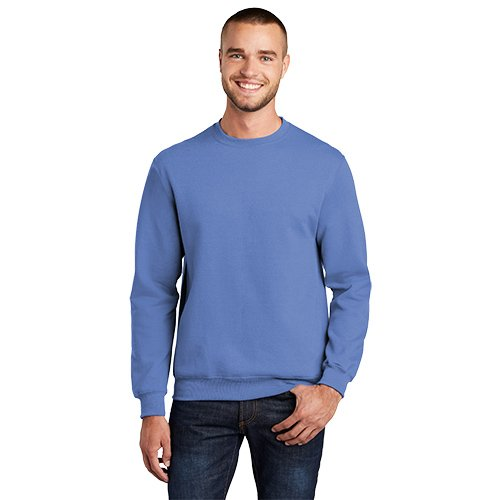 PC78  Port & Company® Core Fleece Crewneck Sweatshirt