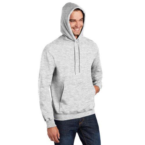 PC90HT  Port & Company® Tall Essential Fleece Pullover Hooded Sweatshirt