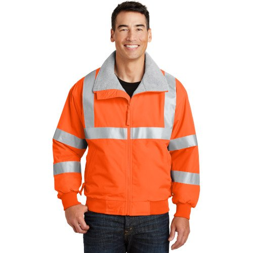 SRJ754 Port Authority® Enhanced Visibility Challenger? Jacket with Reflective Taping