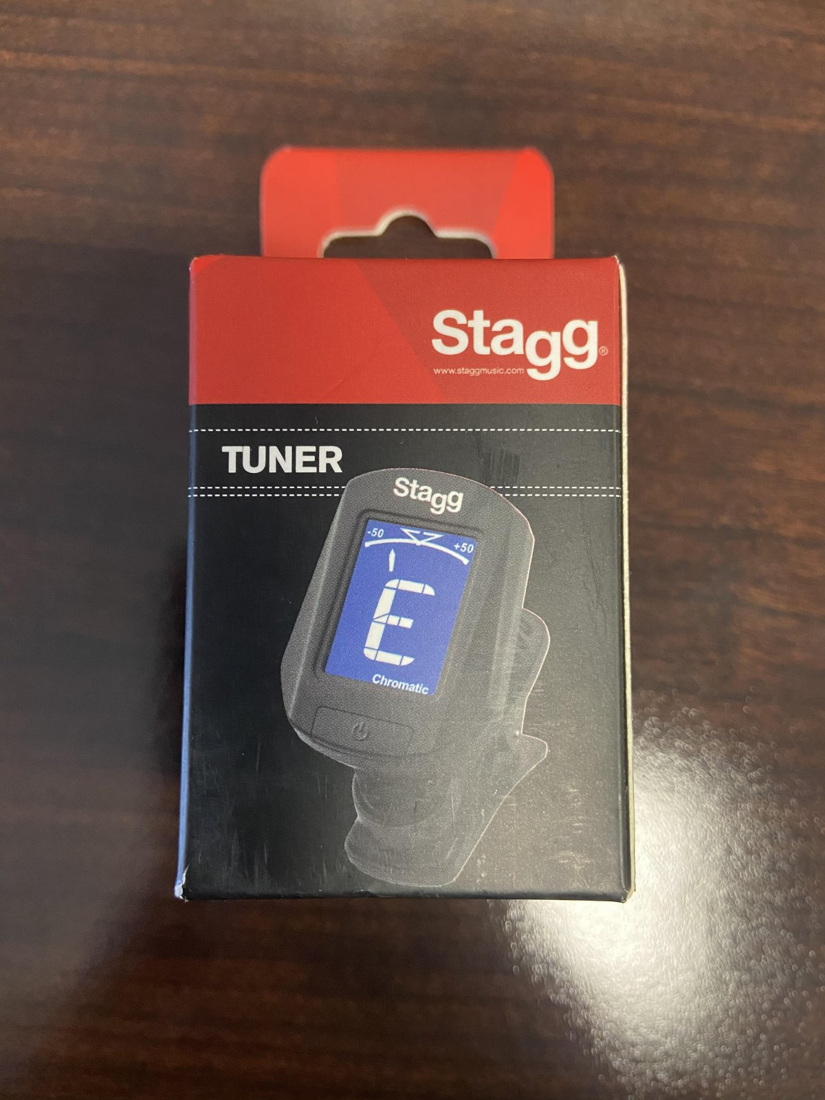Stagg Clip-on Digital Chromatic Tuner