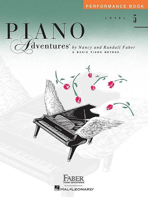 Piano Adventures Performance Book 5