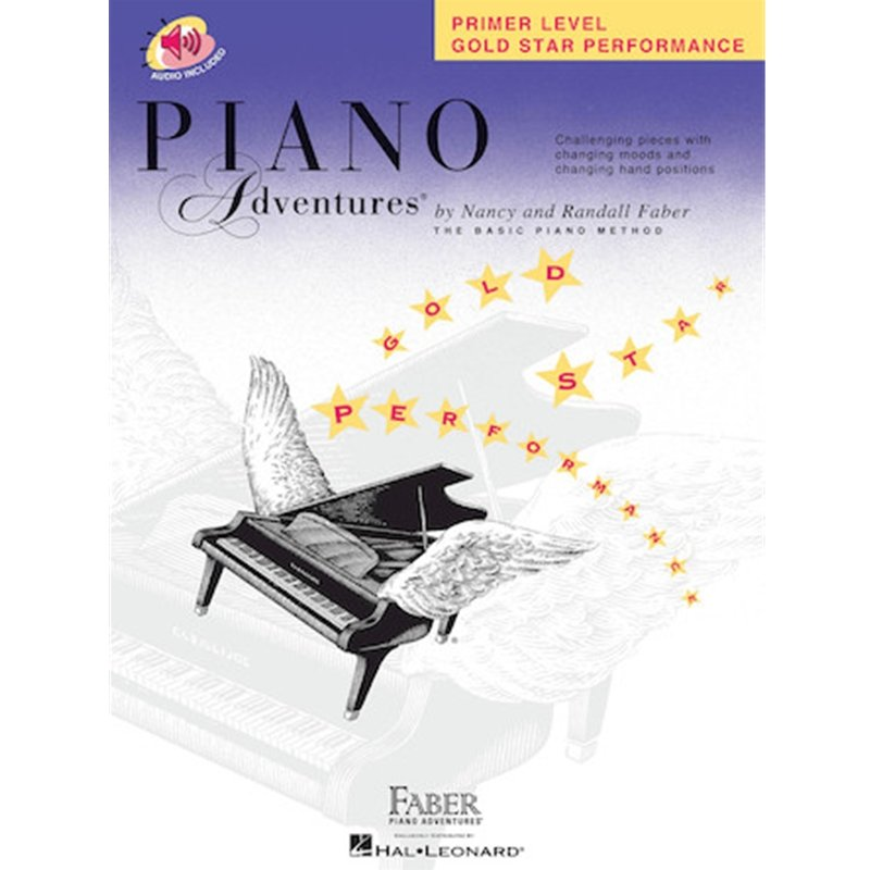 Piano Adventures Primer Level Gold Star Performance