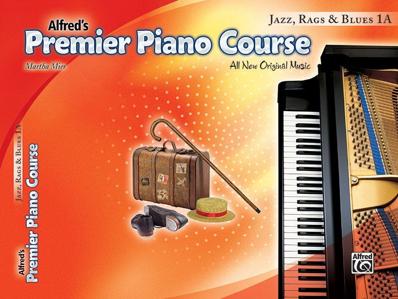 Alfred's Premier Piano Course Jazz, Rags & Blues 1A