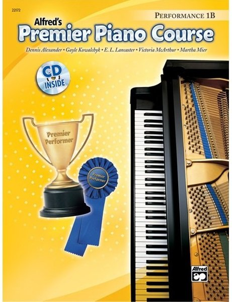 Alfred's Premier Piano Course Performance 1B