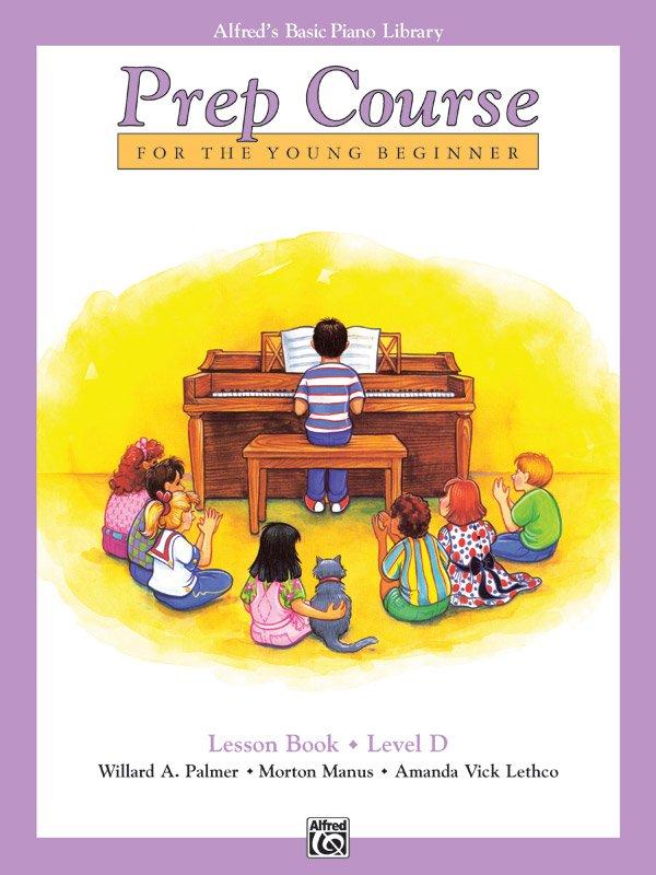 Alfred's Piano Library Prep Course Lesson Book Level D