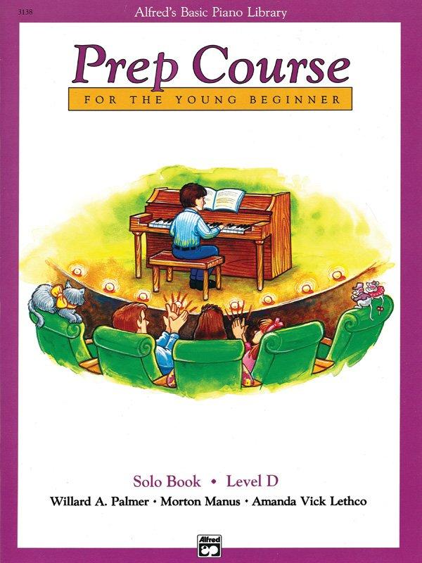 Alfred's Piano Library Prep Course Solo Book Level D