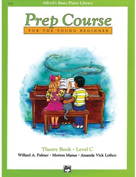 Alfred's Piano Library Prep Course Theory Level C