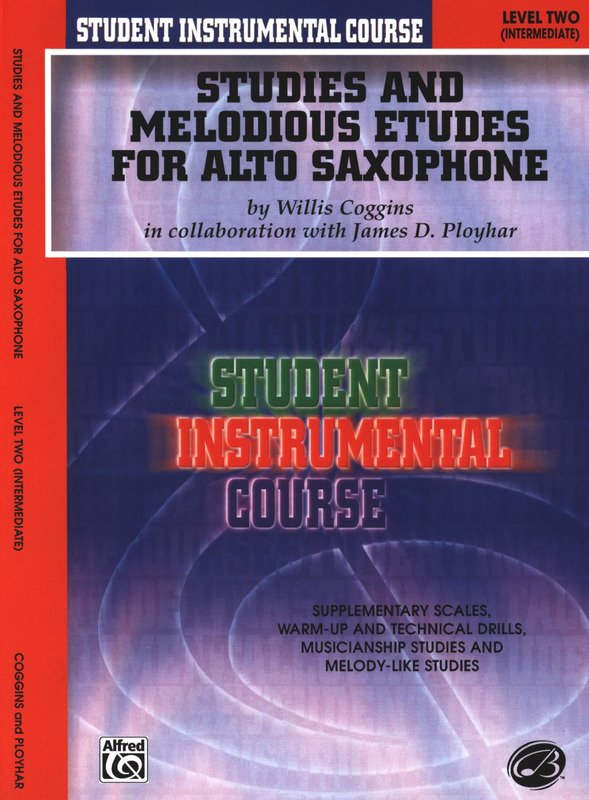 Studies and Melodious Etudes for Alto Saxophone Level Two