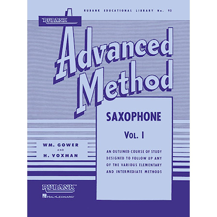 Rubank Advanced Method No. 93 Saxophone