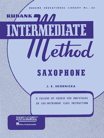 Rubank Intermediate Method No. 68 Saxophone