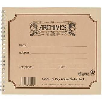 Archives Manuscript Paper