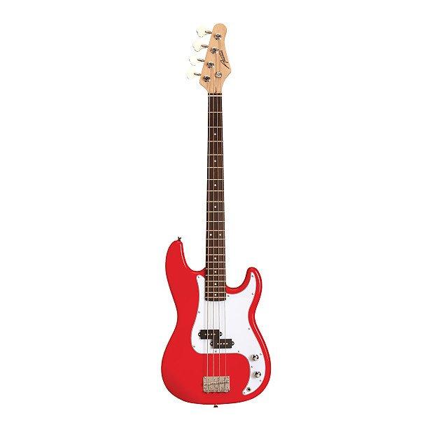 Austin Classic Double Cutaway Electric Bass Guitar