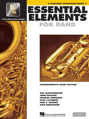 Baritone Saxophone Book 1 Essential Elements for Band