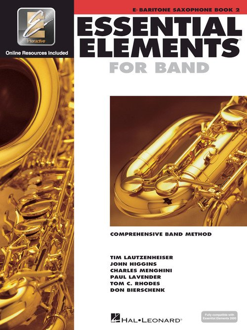 Baritone Saxophone Book 2 Essential Elements for Band