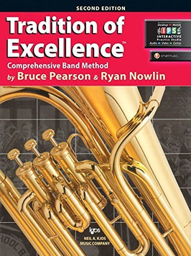 Baritone BC/Euphonium Bk 1 Tradition of Excellence Comprehensive Band Method 2nd Edition
