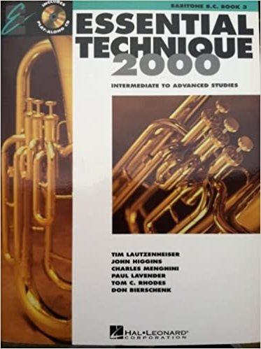 Baritone BC Book 3 Essential Technique 2000