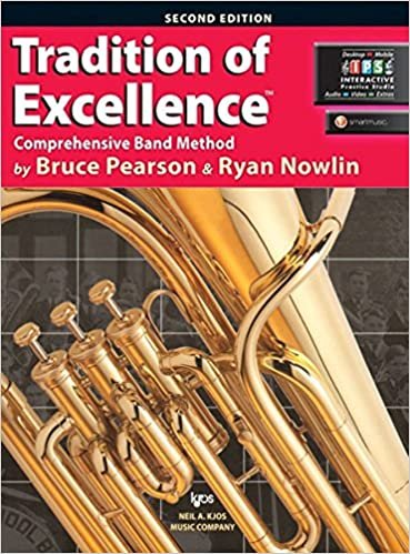 TC Baritone/Euphonium Bk 1 Tradition of Excellence Comprehensive Band Method 2nd Edition