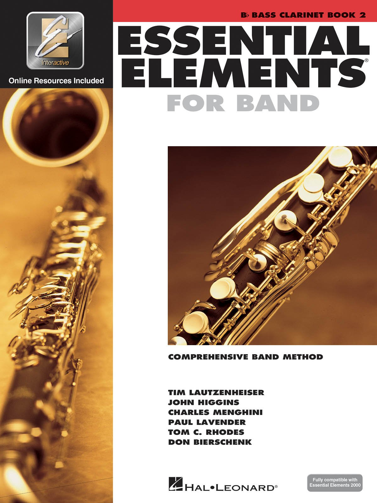 Bass Clarinet Book 2 Essential Elements for Band