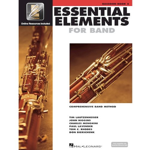 Bassoon Book 2 Essential Elements for Band