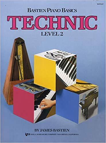 Bastien Piano Basics Technic Level 2