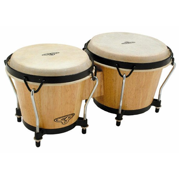CP CP221AW Tunable Wood Bongo Drums