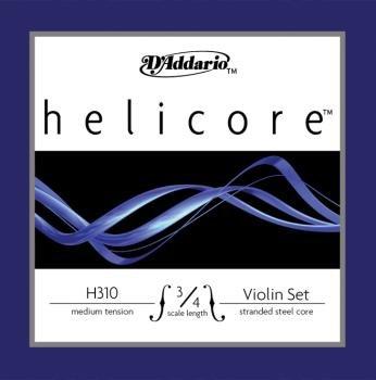 D'Addario H31034M Helicore Violin 3/4 Set