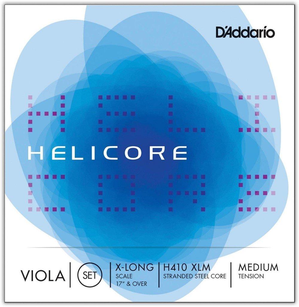 D'Addario H410XLM Helicore Viola 17+ Set