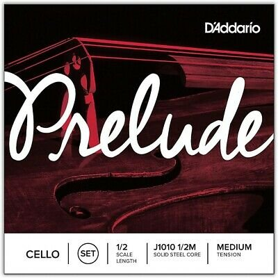 D'Addario J101012M Prelude Cello 1/2 Set