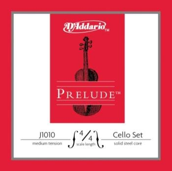 D'Addario J101044M Prelude Cello 4/4 Set