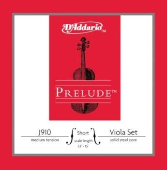 D'Addario J910SM Prelude Viola 13-14 Set