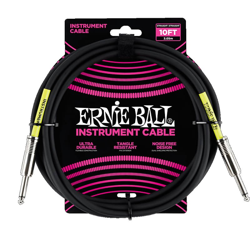Ernie Ball P06048 10' Instrument Cable